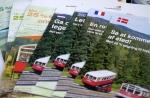 Internationale Werbemedien der Bergbahn