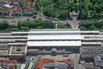 Wird zu Pfingsten gesperrt - Der Erfurter Hauptbahnhof